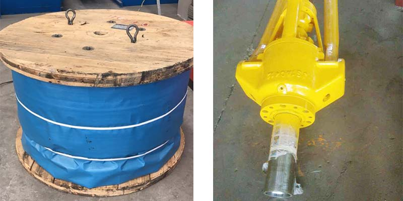 Workover Rig Parts Delivery for Egypt Clients