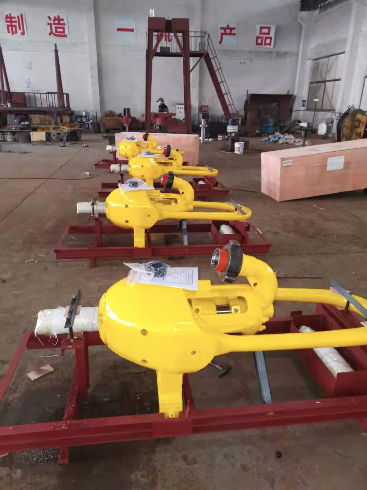 4 sets of Drilling Swivel SL-120 delivered for Azerbaijan Customer