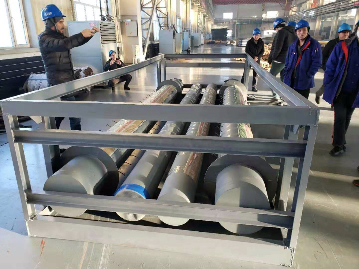 Kazakhstan users do acceptance to Waste Heat Boiler Components and Slide Valve spares.