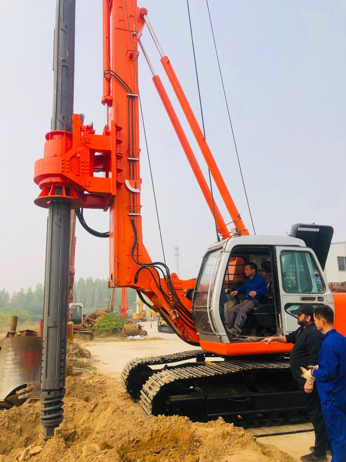 Beyond 2nd Rotary Drilling Rig Reached Mumbai, India
