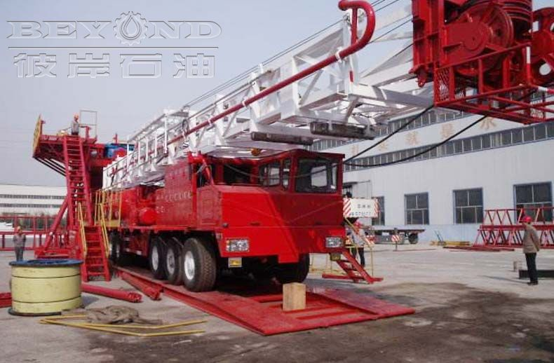 ZJ40Truck-mounted Drilling Rig