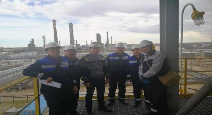 Amazing Emergent Supply for Spare Parts to Atyrau Deep Conversion Complex Project, Atyrau Refinery, Kazakshtan.