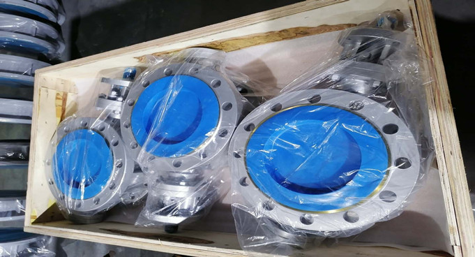Triple Eccentric Butterfly Valve Delivered for Atyrau Oil Refinery