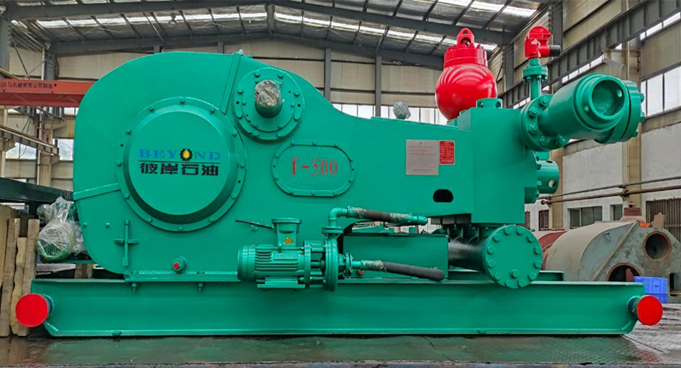 CRF-500 Mud Pump Package Shipped to Ulaanbaatar, Mongolia