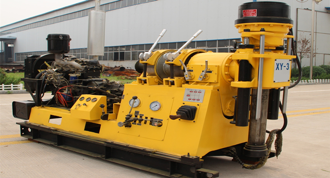 XY-3 Water Drilling Rig Shipped to Casablanca, Morocco