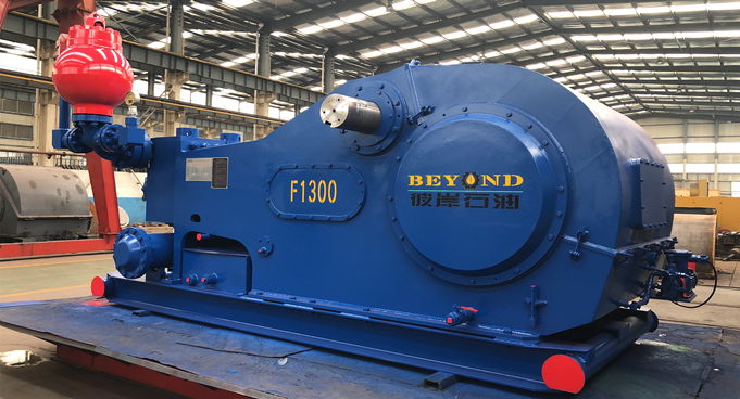 F-1300 Mud Pump Package Shipped to Rumania